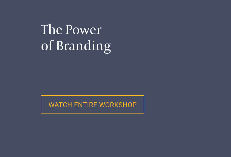 Paul Potratz photo | Branding Workshop | Watch Entire Workshop