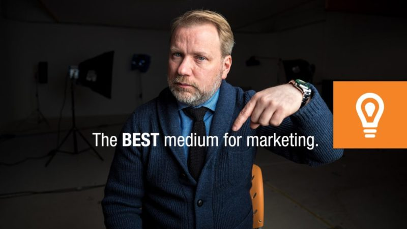 The BEST Medium for Marketing