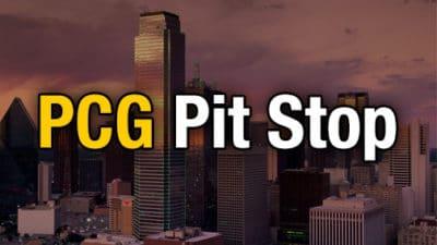 PCG Pit Stop