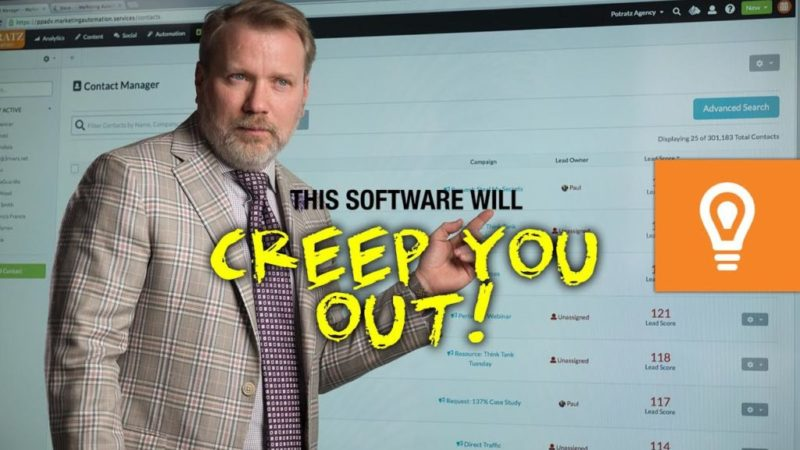 Creepy Software That Drives Sales! What Your Website NEEDS
