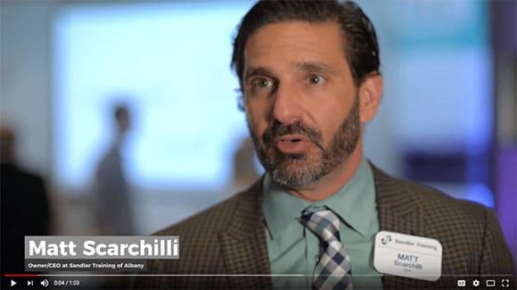 Matt Scarchilli, Owner of Sandler Training