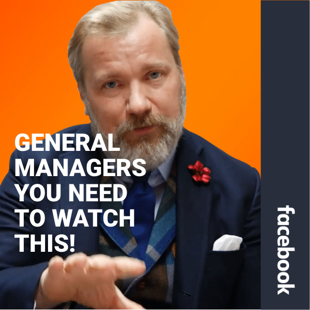 A Message For General Managers